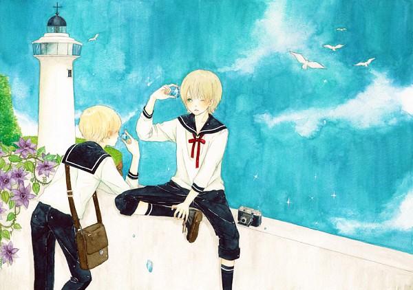 Tags: Anime, Pixiv Id 1213775, Lighthouse, Pixiv, Original