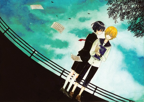 Tags: Anime, Pixiv Id 1213775, Sheet Music, Original, Pixiv