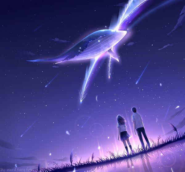Tags: Anime, Pixiv Id 12390571, Aquatic Animal in the Sky, Pixiv, Original
