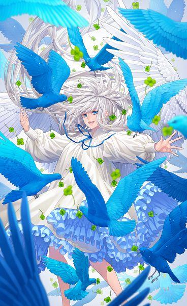 Tags: Anime, Pixiv Id 13988756, Blue Bird, Pixiv, Original