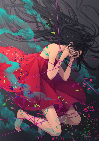 Tags: Anime, Pixiv Id 13988756, Hand on Forehead, Pixiv, Original