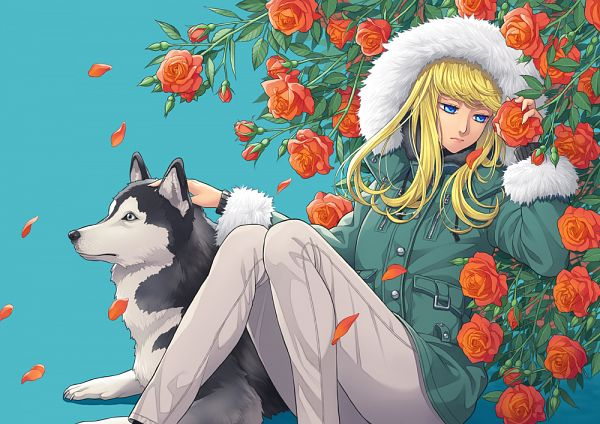 Tags: Anime, Pixiv Id 13988756, Siberian Husky, Parka, Original, Pixiv