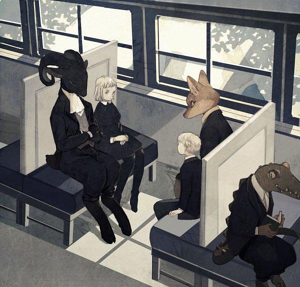 Tags: Anime, Pixiv Id 1552606, Crocodile (Animal), Original, Tumblr