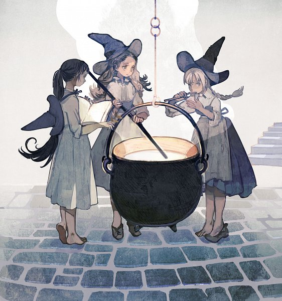 Tags: Anime, Pixiv Id 1552606, Soup, Cooking Pot, Original, Tumblr