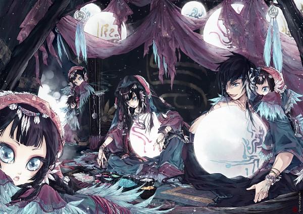 Tags: Anime, Pixiv Id 224833, Rug, Detailed, Original