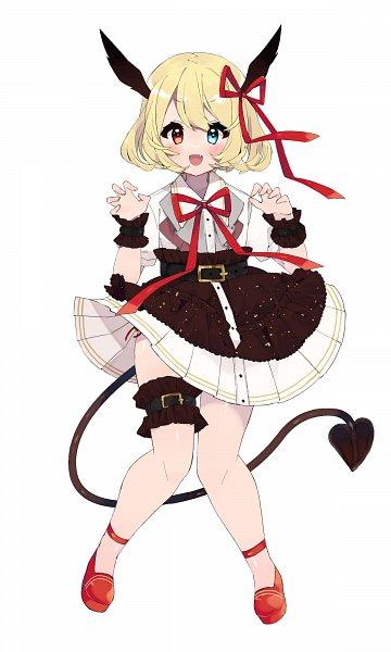Tags: Anime, Pixiv Id 24006385, Heart Tail, Pixiv, Original