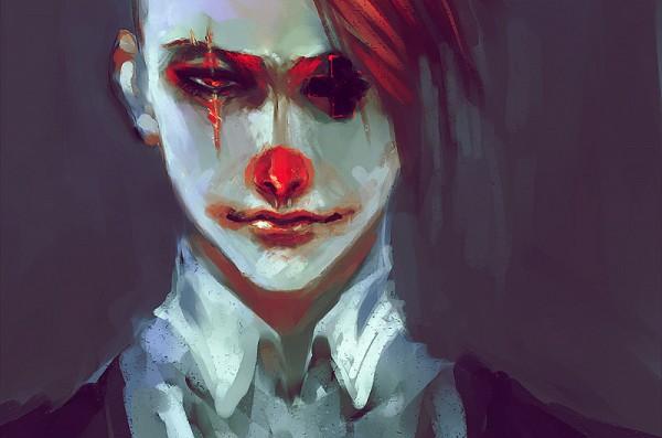 Tags: Anime, Pixiv Id 2862218, Clown, Pixiv