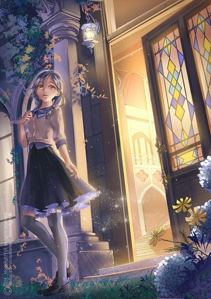 Tags: Anime, Pixiv Id 3400554, Gray Legwear, Pixiv, Original