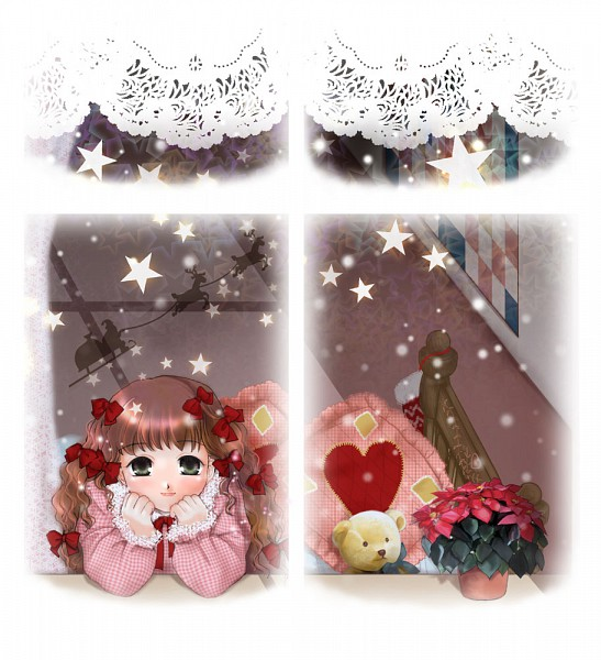 Tags: Anime, Pixiv Id 34029, Poinsettia, Pixiv, Original