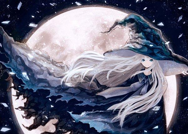 Tags: Anime, Pixiv Id 42169883, Blue Cape, Facebook Cover, Pixiv, Original
