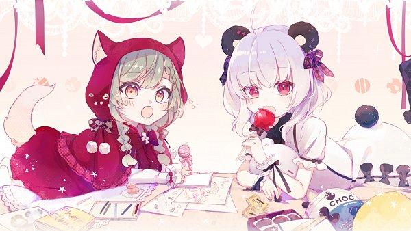 Tags: Anime, Pixiv Id 4480790, Candy Apple, Wallpaper, Pixiv, Original