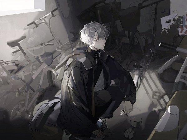 Tags: Anime, Pixiv Id 4836490, Black, Original, Lofter