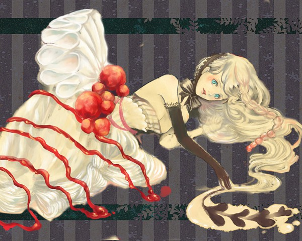 Tags: Anime, Pixiv Id 55524, Q Pixiv: Sweets Personification, Pixiv, Original, Quarterly Pixiv