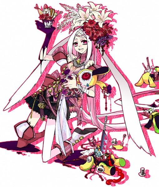 Tags: Anime, Pixiv Id 576249, Punk, Bunny Hat, Pixiv, Original