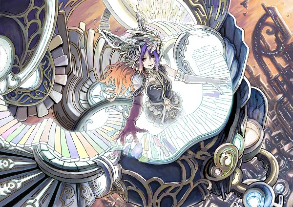 Tags: Anime, Pixiv Id 616955, Traditional Media, Pixiv, Original