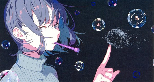 Tags: Anime, Pixiv Id 7274164, 100 Masters of Bishoujo Painting, Self Scanned, Scan, Pixiv, Original