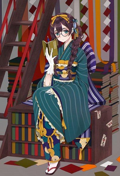 Tags: Anime, Pixiv Id 7290381, Ladder, Original, Pixiv