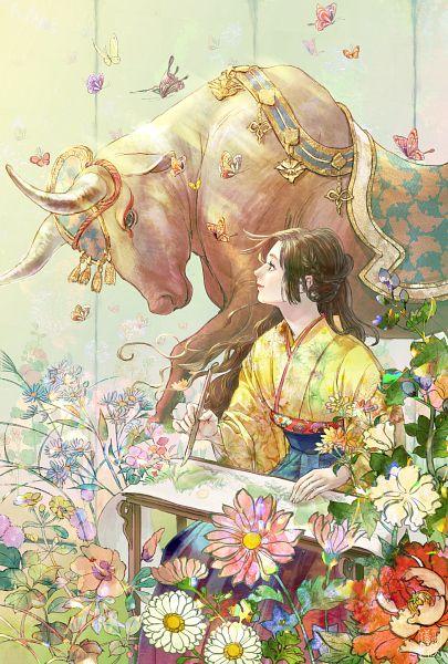 Tags: Anime, Pixiv Id 743648, Pixiv, Original, Happy 2021