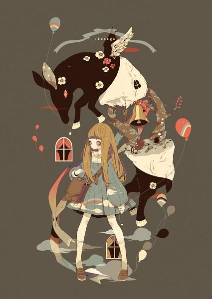 Tags: Anime, Shikimi, Pixiv Shadow, Surreal, Pixiv, Mobile Wallpaper, Fanart