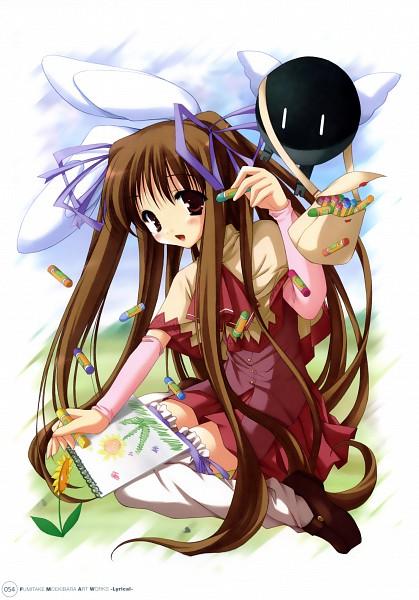 Tags: Anime, Moekibara Fumitake, Fumitake Moekibara Illustrations - Lyrical -, Purism Egoist, Piz, Drawing (Object), Drawing (Action)
