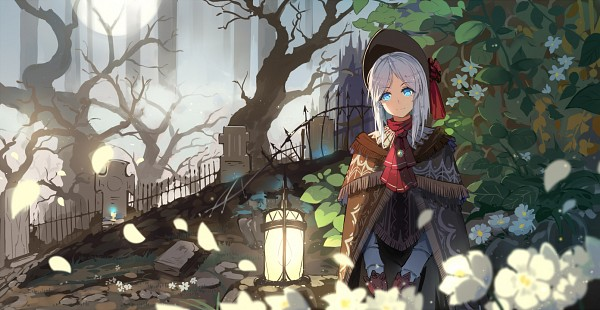 Tags: Anime, Haraguroi You, Bloodborne, Plain Doll, Graveyard, Ball Jointed Doll, Fanart, Fanart From Pixiv, Facebook Cover, Pixiv