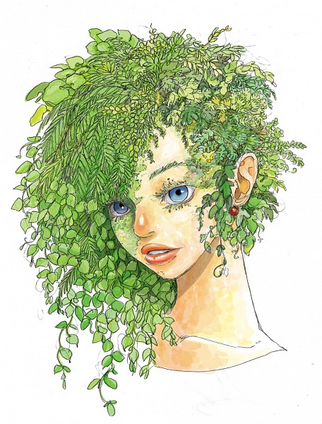Tags: Anime, Plant Person