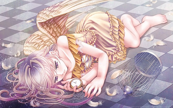 Tags: Anime, Plastic Moon, 1680x1050 Wallpaper, Pixiv, Original, Wallpaper