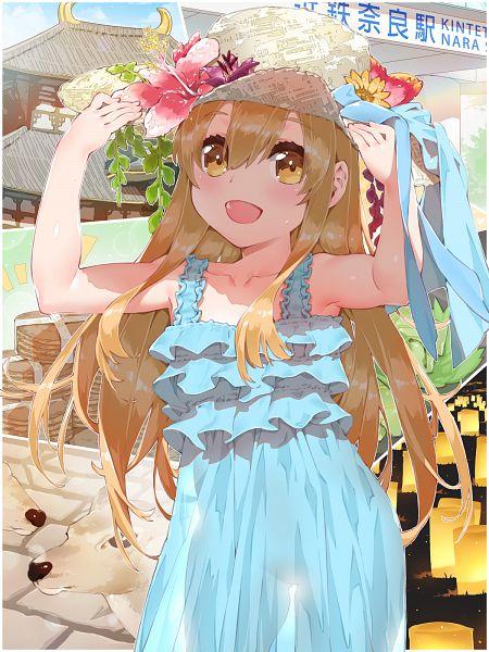 Tags: Anime, WaterRing, Hataraku Saibou, Platelet, Deer, Fanart, Fanart From DeviantART, deviantART, Wallpaper