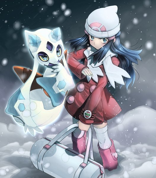 Tags: Anime, Eudetenis, Pokémon SPECIAL, Pokémon, Platinum Berlitz, Froslass