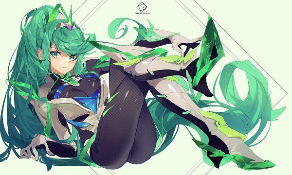 Tags: Anime, Grandia Lee, Xenoblade 2, Pneuma