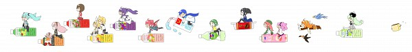 Tags: Anime, Pixiv Id 73435, Macloid, UTAU, VOCALOID, Hatsune Miku, KAITO, Momone Momo, Kamui Gakupo, Haruka Nana, Kagamine Len, Yokune Ruko, Kasane Teto