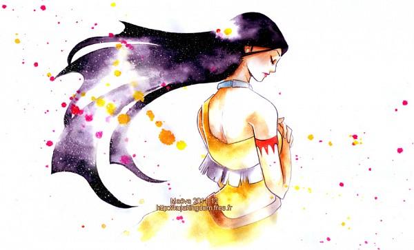 Tags: Anime, Pocahontas, Pocahontas (Character), Watercolor, Traditional Media, Fanart