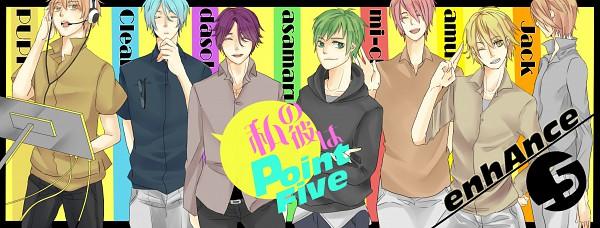 Tags: Anime, Karasuma Tubaki, PUPI, clear (Nico Nico Singer), Dasoku, Mi-chan, Asamaru, Jack (Nico Nico Singer), amu, Nico Nico Douga, Enhance, Nico Nico Singer, Pixiv