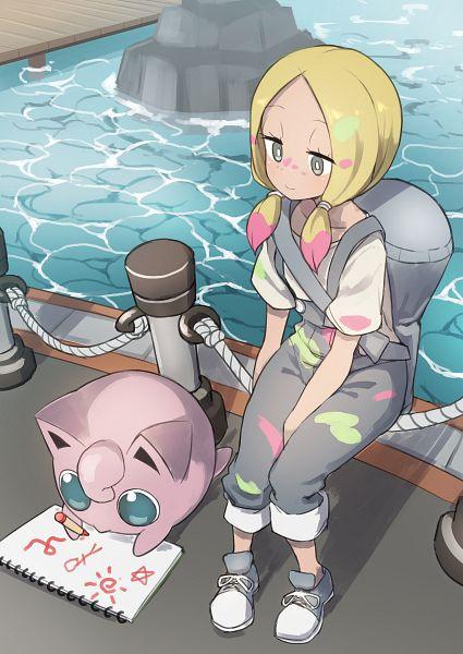 Tags: Anime, Ka Pool, Pokémon Sun & Moon, Pokémon Red & Green, Pokémon: Let's Go Pikachu! & Let's Go Eevee!, Pokémon Ultra Sun & Moon, Pokémon, Jigglypuff, Matsurika (Pokémon), Drawing (Action), Drawing (Object), Dock, Crayola