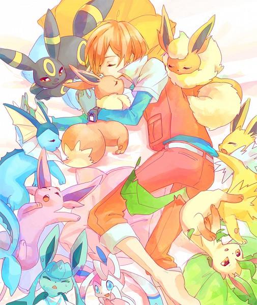 Tags: Anime, Rikovui, Pokémon (Anime), Pokémon, Eevee, Vaporeon, Sylveon, Glaceon, Jolteon, Virgil, Leafeon, Flareon, Umbreon