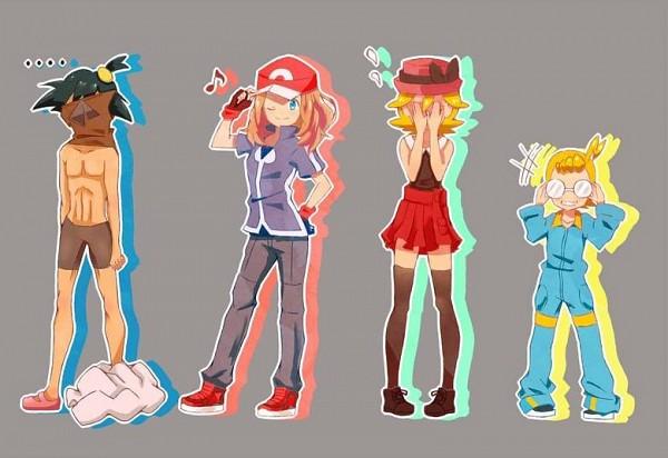 Tags: Anime, Pixiv Id 8016133, Pokémon (Anime), Pokémon, Serena (Pokémon), Eureka (Pokémon), Citron (Pokémon), Satoshi (Pokémon), Serena (Pokémon) (Cosplay), Citron (Pokémon) (Cosplay), Eureka (Pokémon) (Cosplay), Pokémon (Cosplay), Satoshi (Pokémon) (Cosplay)