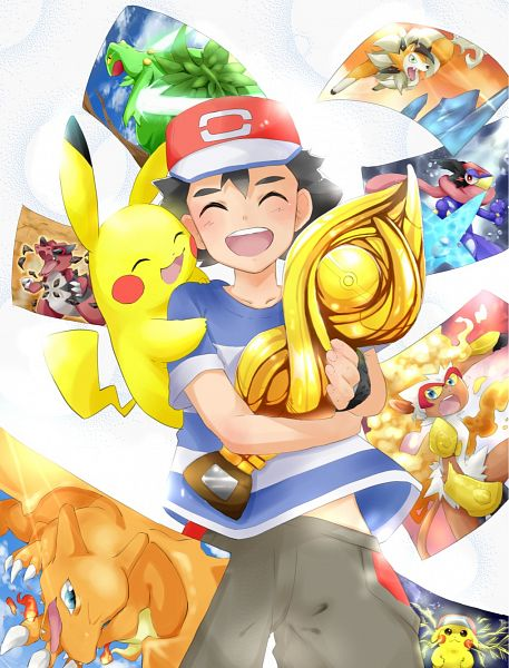 Tags: Anime, Pixiv Id 10455357, Pokémon (Anime), Pokémon Ruby & Sapphire, Pokémon Black & White, Pokémon Red & Green, Pokémon Diamond & Pearl, Pokémon Ultra Sun & Moon, Pokémon Sun & Moon, Black and White 2, Pokémon, Charizard, Krookodile