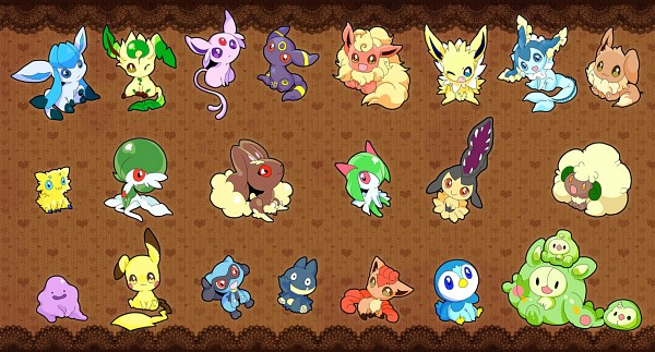 Tags: Anime, Rotlemon, Pokémon, Piplup, Vulpix, Whimsicott, Espeon, Reuniclus, Pikachu, Eevee, Solosis, Vaporeon, Ditto