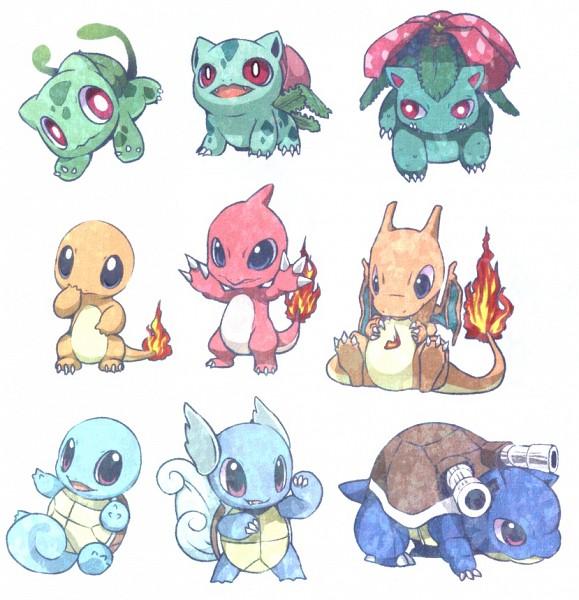 Tags: Anime, Yen-Cat (Mimi), Pokémon, Squirtle, Ivysaur, Charmeleon, Charizard, Wartortle, Bulbasaur, Blastoise, Charmander, Venusaur, Dragon Wings
