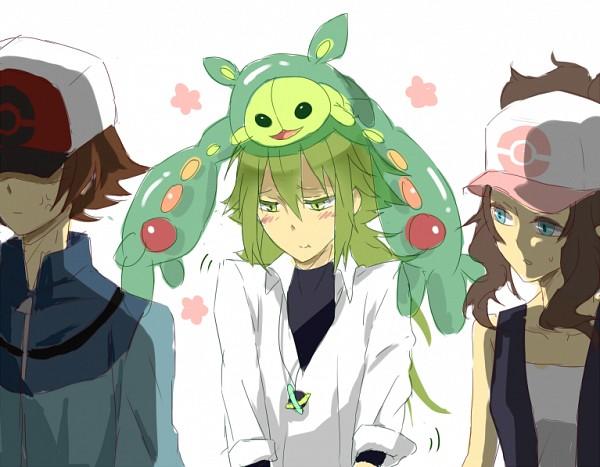 Tags: Anime, Imiya Kaminari, Pokémon, Reuniclus, Touko (Pokémon), Touya (Pokémon), N (Pokémon)