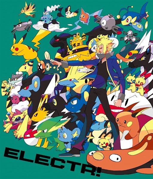 Tags: Anime, Pixiv Id 881905, Pokémon, Jolteon, Flaaffy, Electabuzz, Magnemite, Rotom, Pikachu, Chinchou, Luxray, Pichu, Raichu