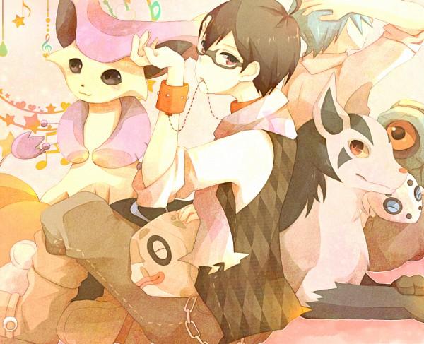 Tags: Anime, Chita (Ketchup), Pokémon SPECIAL, Pokémon, Tsuwabuki Daigo, Delcatty, Feebas, Aron, Mightyena, Beldum, Yuuki (Pokémon), Fanart