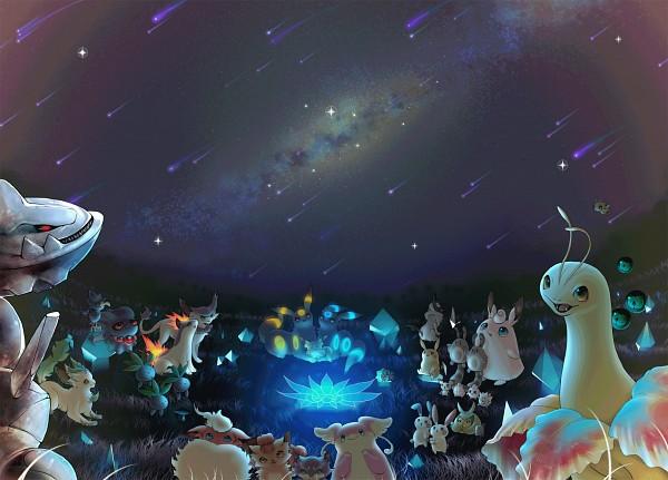 Tags: Anime, Pixiv Id 121635, Pokémon, Sentret, Liepard, Vulpix, Diglett, Delcatty, Togepi, Absol, Igglybuff, Swadloon, Eevee