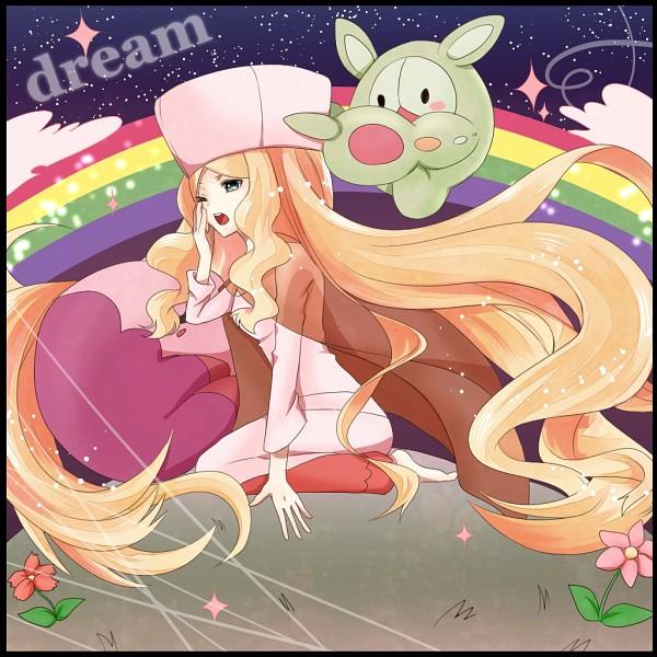 Tags: Anime, Pixiv Id 4249442, Pokémon, Musharna, Reuniclus, Munna, Cattleya