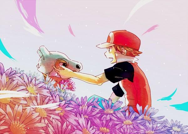Tags: Anime, 68 (Artist), Pokémon, Fire (Pokémon), Cubone, Pixiv, Fanart From Pixiv, Fanart