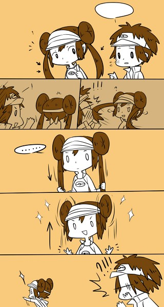 Tags: Anime, Lou (Mangaka), Kyouhei, Mei (Pokémon), Mobile Wallpaper
