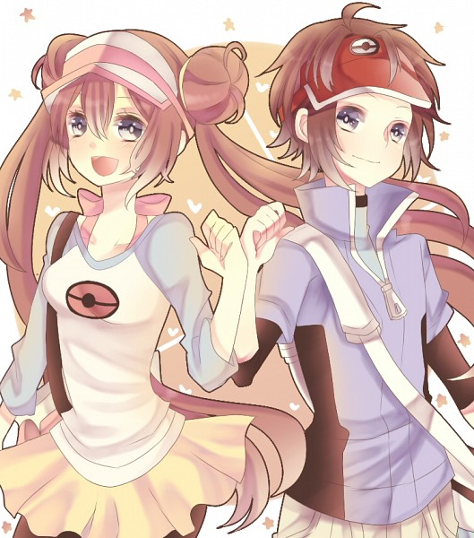 Tags: Anime, Pixiv Id 2177608, Pokémon, Mei (Pokémon), Kyouhei, Bro Fist, Yellow Skirt, Pixiv, Fanart From Pixiv, Fanart