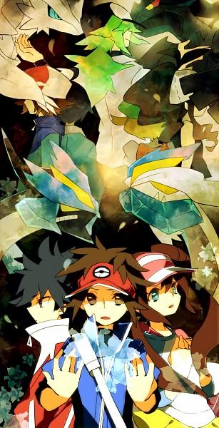 Tags: Anime, Suguru (Artist), Pokémon, Mei (Pokémon), Touko (Pokémon), Cheren (Pokémon), White Kyurem, Kyurem, N (Pokémon), Black Kyurem, Zekrom, Kyouhei, Hue