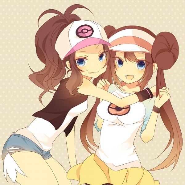 Tags: Anime, Mmco, Pokémon, Mei (Pokémon), Touko (Pokémon), Fanart From Pixiv, Fanart, Pixiv