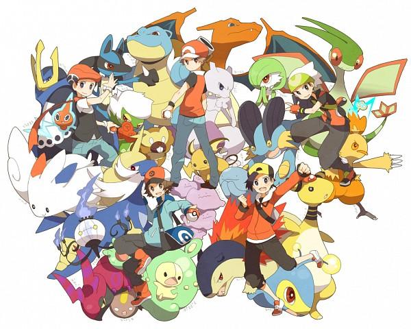 Tags: Anime, csnel, Pokémon, Empoleon, Chandelure, Touya (Pokémon), Charizard, Mewtwo, Togekiss, Hibiki (Pokémon), Combusken, Gardevoir, Yuuki (Pokémon)